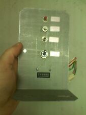 Time Crisis arcade test switch assembly
