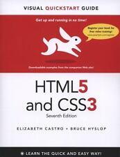 HTML5 & CSS3 Visual QuickStart Guide [7th Edition]