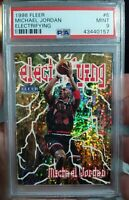 1998 Fleer Electrifying #6 (PSA 9) Michael Jordan MINT! POP 67