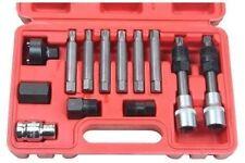 13 Pc Alternador Rueda Libre Polea eliminación Socket Bit Set garaje servicio Kit De Herramientas