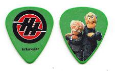 Hunter Hayes Statler and Waldorf Muppets Green Guitar Pick - 2015 Tour