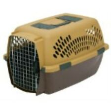 Petmate Pet Porter Fashion Kennel, For Pets 15 to 20 Pounds, Wheat/Coffee Ground