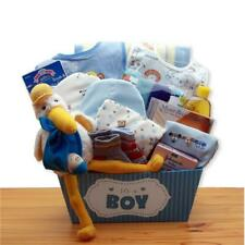 Gbds 890652-B A Special Delivery New Baby Gift Basket - Blue