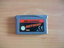 METROID NES CLASSICS - GAMEBOY ADVANCE