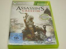 !!! XBOX 360 SPIEL Assassins Creed III GUT !!!