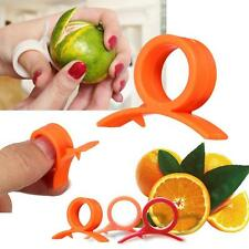 Easy Orange Lemon Citrus Peeler Slicer Fruit Stripping Ring Opener Tool Gadget