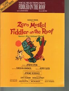 Fiddler On The Roof Vocal Selections (Stage Version) Sheet Music