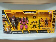 Transformers War For Cybertron Buzzworthy Bumblebee Worlds Collide NEW