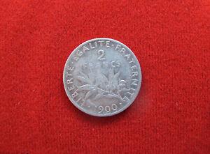 2 FRANCS SEMEUSE 1900 ARGENT