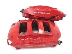 Porsche Brembo Rear Brake Calipers 991 Gen1 & 2 3.8 Carrera S 4S Boxster Spyder