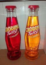 Coppia Bottiglie Crodino Formato Magnum da 5 Litri Gusto Agrumi e Frutti Rossi