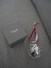 BOULE DE NOEL 2014 CHRISTOFLE CHRISTMAS BALL WEIHNACHTSSCHMUCK