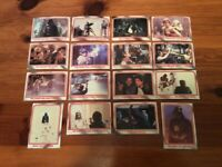 Lot B of 16 Trading Card - 1980 Topps Star Wars THE EMPIRE STRIKES BACK Series 1