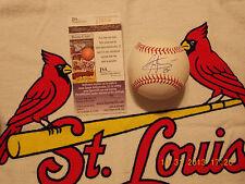 Carlos Martinez autographed Rawlings MLB Baseball- JSA Authenticated