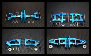 Drift Querlenker Set f. Tamiya TT-01 TT01 TT01E TT01D Alu Tuning