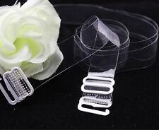 Correas de sujetador transparente 2 pars 1cm + 2 clips de control de Sujetador escisión ** ** Reino Unido