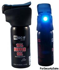 Mace® Pepper Spray Night Defender Pepper Gel  LED Light & UV Dye Self Defense