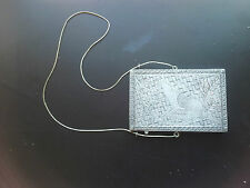 BEAUTIFUL ANTIQUE SOLID SILVER CARD CASE