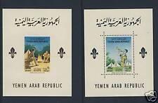 Scouts - Yemen - YAR Michel Block 28 - 29