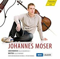 Johannes Moser - Cello Concerto No.1/Cello Symphony [CD]