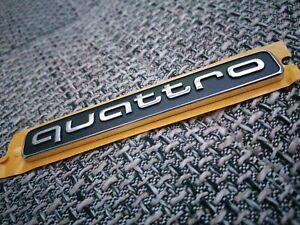 1 St/ück Frontgrill Abzeichen Quattro Logo Auto Styling Emblem f/ür Audi Quattro A3 A4 A5 A6 S4 S5 S6 S7 C5 C6 B7 B8 B6 Q3 Q5