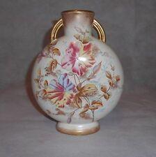 Antique Adderley Porcelain Pillow Floral Vase England
