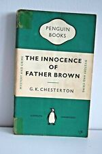 PENGUIN CLASSICS The Innocence of Father Brown G.K. Chesterton 1st Edition 1950