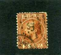 NEDERLAND, WILLIAM III,  SC 9   1867