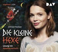 DIE KLEINE HEXE - PREUßLER,OTFRIED - LESUNG MIT KAROLIN HERFURTH    2 CD NEU