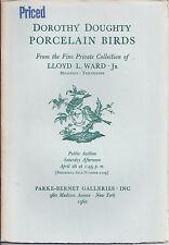 PB Porcelain Birds Series Dorothy Doughty Ward Collection Catalog 1962