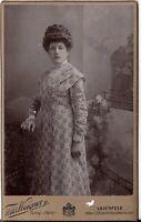 CDV photo Feine Dame - Lilienfeld 1910er