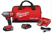"""Milwaukee 2852-22CT M18 Fuel™ 3/8"""" Mid-Torque Impact Wrench 2.0Ah Battery Kit"""