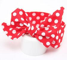 Kids Girls Toddler Baby Big Bow Headband Hair Band Accessories Polka Dot