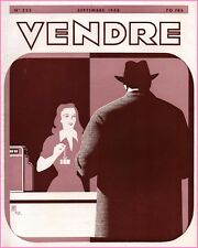 ▬►MARKETING PUBLICITÉ  -- VENDRE N° 223 (SEPTEMBRE 1948) --  COVER  E.MEDWEY