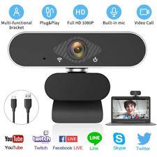 1080P HD Webcam Mit Mikrofon Webkamera USB 2.0 Kamera für Computer Laptop PC DE