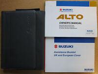 SUZUKI ALTO OWNERS MANUAL HANDBOOK WALLET 2002-2006 PACK 12657