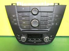 VAUXHALL INSIGNIA (09-14) AIR CON HEATER CONTROL PANEL AND RADIO CONTROLS