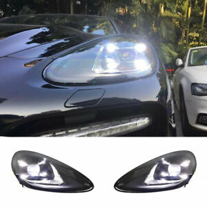 For Porsche Cayenne LED Headlights Projector LED DRL Replace OEM Halogen 11-14