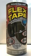 "FLEX TAPE™ BLACK 8"" X 5'  STRONG WATERPROOF REPAIR TAPE  TFSBLKR0805"