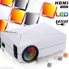 5000 Lumens LED Projector Home Theater USB TV 3D HD 1080P AV VGA USB SD HDMI WP