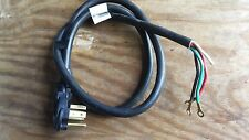"""10 gauge 72"""" 4-conductor cord with moulded  (10-30-C8)"""