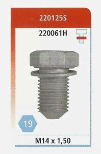 Corteco Sump Plug & Washer 220125S. VAG Audi, Seat, Skoda & VW. N90813201 / 2