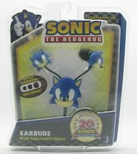 JAZWARES Sonic the Hedgehog 20th anniversary Earbuds with adjustable figure A68G