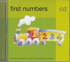 First Numbers Mother Baby Two Little Dickie Birds Counting Songs Rhymes CD NEW