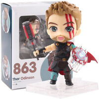 Marvel Thor 3 Ragnarok Nendoroid 863 PVC Action Figure Collectible Model Toy