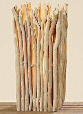 Lámpara madera de combustible mesa pie Diseño Moderno Grande altura 50cm NATURAL
