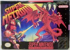 Super Metroid SNES Super Nintendo Video Game with instructions Used 1994