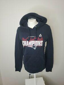 New England Patriots Official Super Bowl LI Champions Ladies Sweatshirt Hoody S