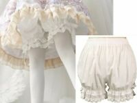 Lolita Lace Pumpkin Bubble Women Cotton Bloomers Under Pants Safety Shorts