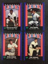 YOGI BERRA Yankees 1994 Virginia State Lottery Baseball Legends Hall Fame B6